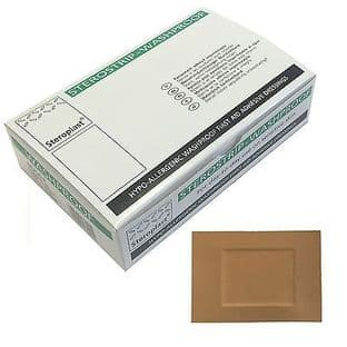 Washproof Plasters 7.5cm x 5cm (Steroplast) Pack 50