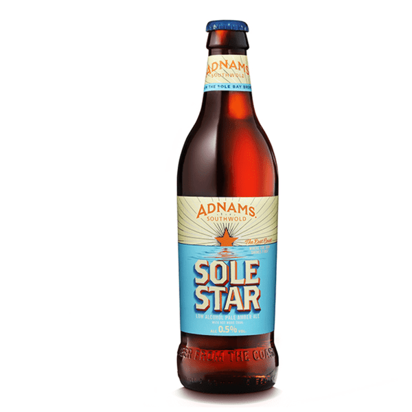 Adnams Sole Star Alcohol Free Beer (0.5% ABV)