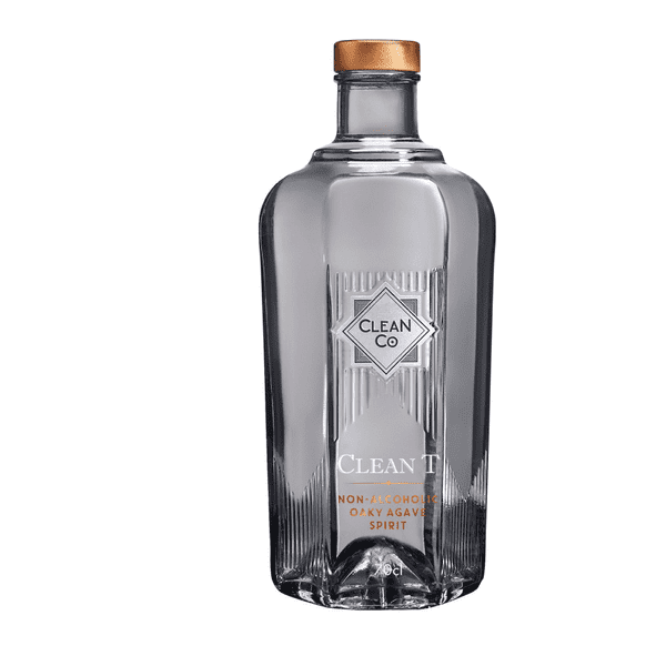 CleanCo Clean T Tequila Alternative Alcohol Free Spirit (0% ABV)