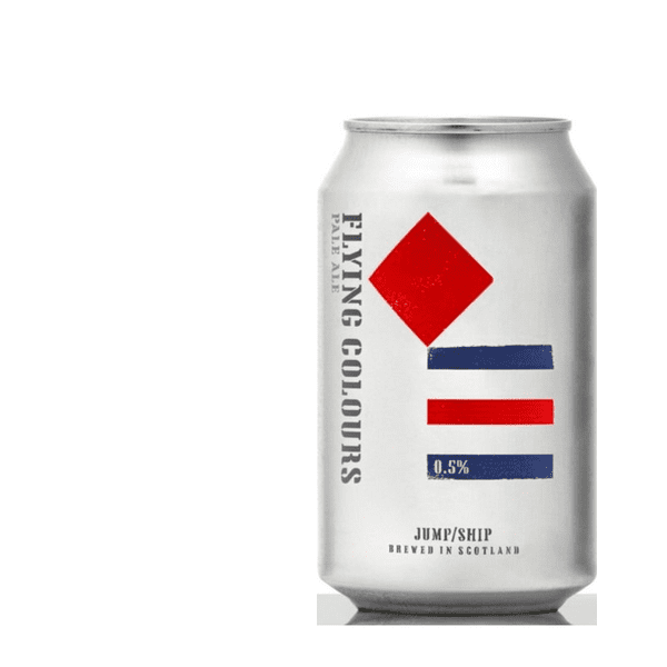 Jump Ship Flying Colours  Low Alcohol Pale Ale (0.5% ABV)
