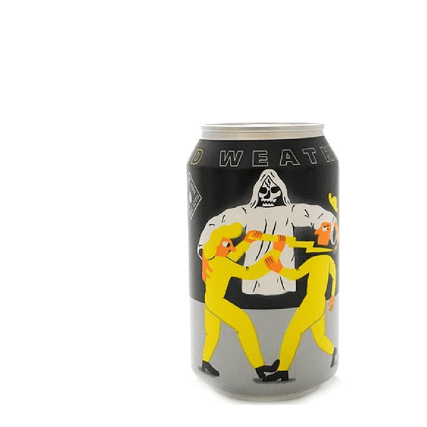 Mikkeller Weird Weather Hazy Alcohol Free IPA Beer Can (0.3%)