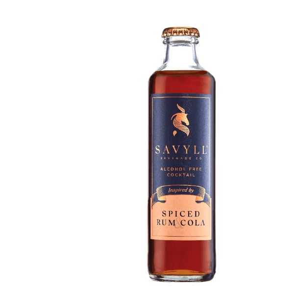 Savyll Spiced Rum & Cola Alcohol Free Cocktail (0%ABV)