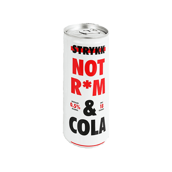 Stryyk Not Rum & Cola Can (0.5% ABV)