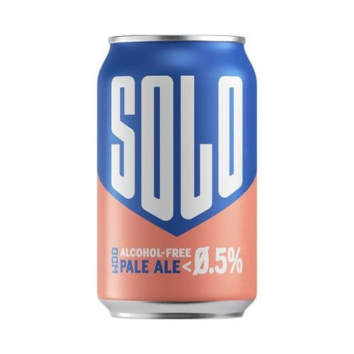 West Berkshire Brewery Solo Alcohol Free Pale Ale (0.5% ABV)