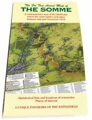 Fir Tree Map of The Somme - Folded