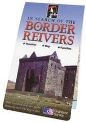 In Search of the Border Reivers - Map