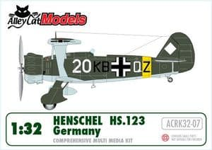 Henschel Hs 123 A  'Germany'