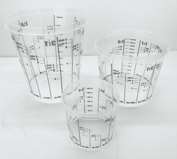 Re-usable  Mixing Cups - Select Size