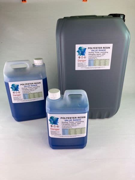 VALUE Polyester Resin -  - Select Size