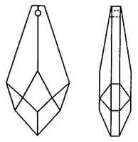 CRYSTAL HEXAGON DROPS