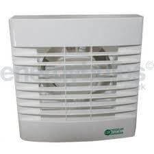 """Airvent 459318A 4""""/100mm Extractor fan plus humidistat and shutter"""