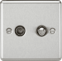 CL014BC TV & SAT TV Outlet (isolated)