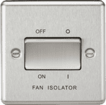 CL11BC Fan Isolator 10A Plate Switch