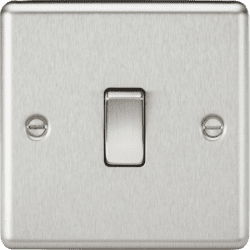 CL2BC 1G 2 Way 10A Plate Switch