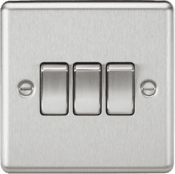 CL4BC 3G 2Way 10A Plate Switch