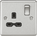 CL7BC 1G Decorative Switched Socket