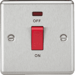 CL81NBC 45A DP Switch with Neon (single size)
