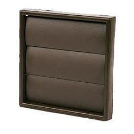 """GG5 5""""/125mm Gravity Grill/Vent Brown"""