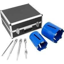 MEXCO PROFESSIONAL 8 PIECE DRY DIAMOND CORE DRILL KIT SLOTTED