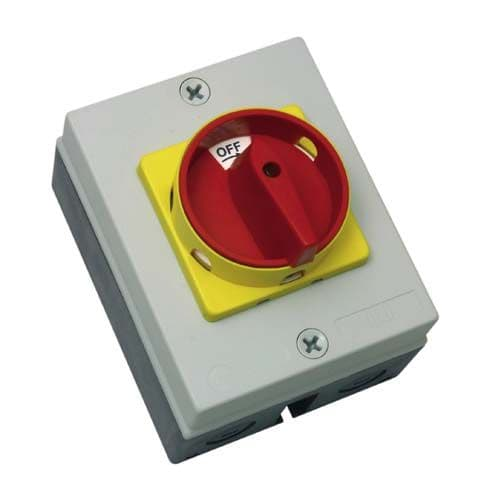 RS324P Rotary Isolator 32A 4P