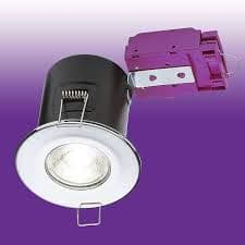 VFCFC FIRE RATED DOWNLIGHT (POLISHED CHROME)