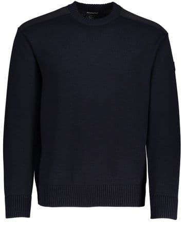 Paul & Shark Patch Sweater <br>Navy