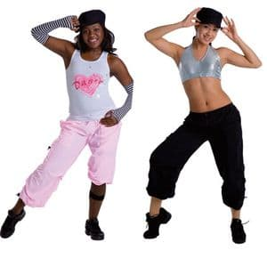 Bodywrappers Cropped Hip-Hop Pant