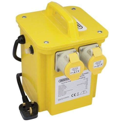110V Site Safety Transformer 3.3KVA With 2 Plugs