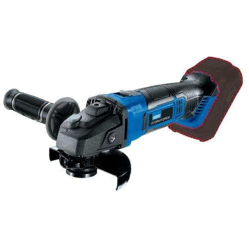 Draper Storm Force Cordless 115mm Angle Grinder Includes 2 Battery's And Charger