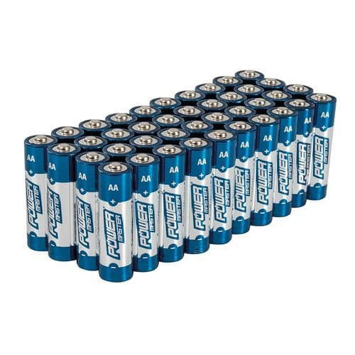 LR6 AA Battery's 40 Pack Power Master Premium Quality