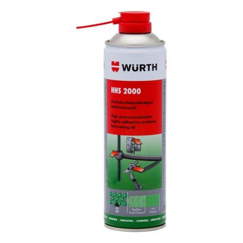 Wurth HHS 2000 Adhesive Lubricant 500ml