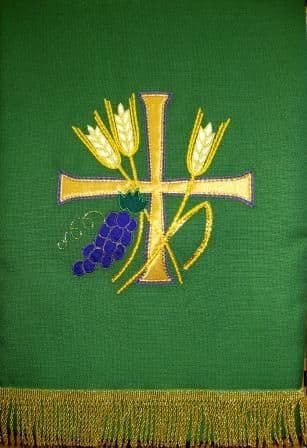 Evensided Cross - Wheat and Grape