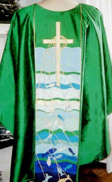 Fisher of Men Chasuble