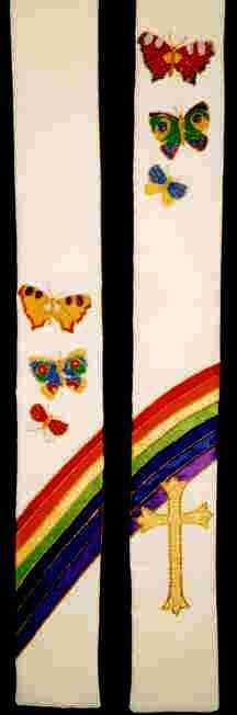 Rainbow and Butterflies (160)