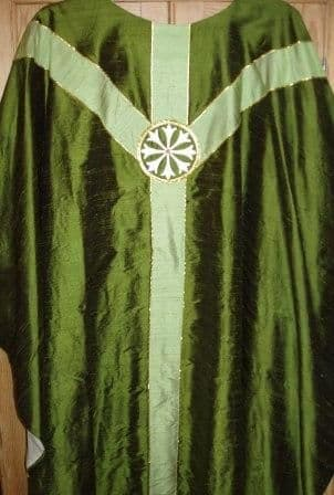Silk Y Orphrey Chasuble
