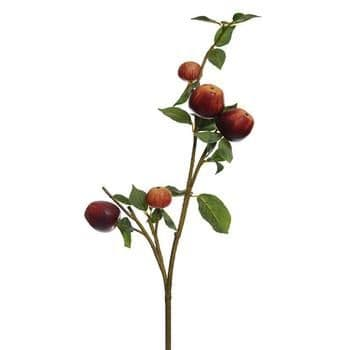 Artificial Branch With Apples 84 cm