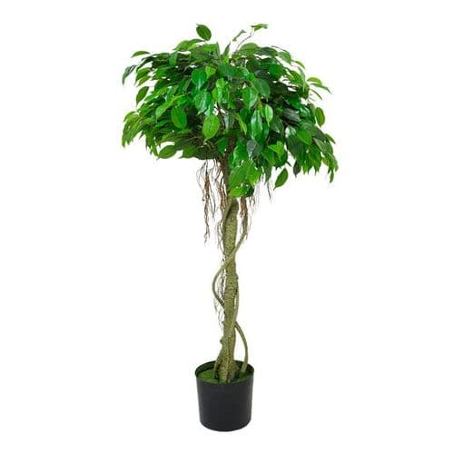 Artificial Potted Ficus Ball Green 152 cm