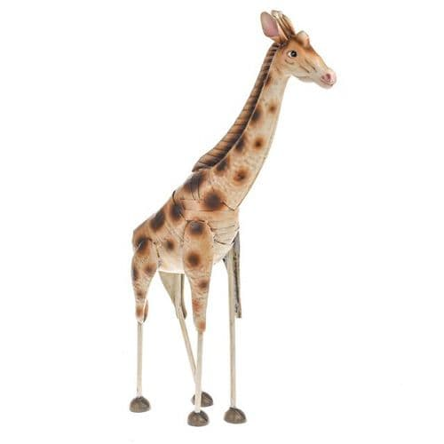 Wild Jungle Metal Giraffe Ornament 68 cm