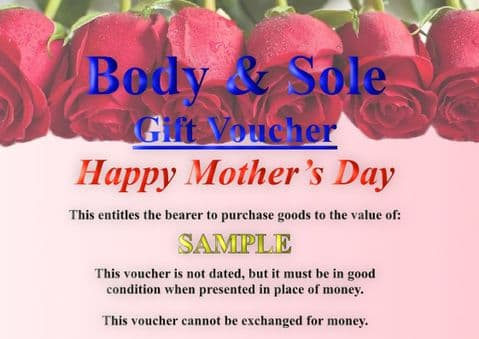 £10 Mother's day Gift Voucher