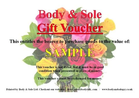 Any Ocassion Gift Voucher £60