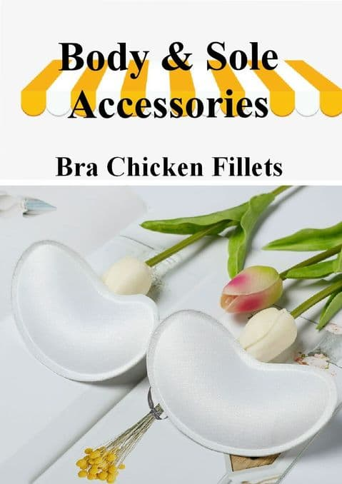 B&S - Bra chicken Fillets For more push-up WHT