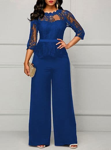 B&S - Royal Blue Jumpsuit