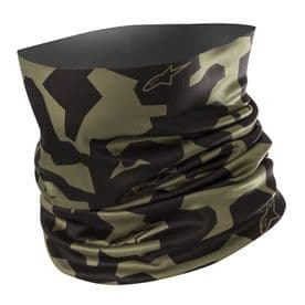 Alpinestars Camo neck tube mili green