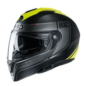HJC I90 Flip Front Davan MC4HS Yellow