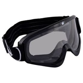 Oxford Fury MX Goggles - Glossy Black