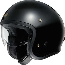 Shoei J.O Gloss Black Helmet