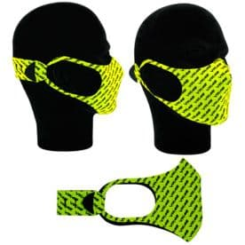 VR46 ROSSI COMMUNITY FACE MASK YELLOW