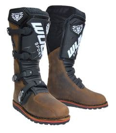 Wulfsport HL Trials Boots Brown