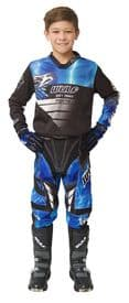 Wulfsport Kids Cub Forte Blue MX Top & Pants