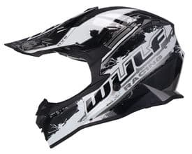 Wulfsport Off Road Pro MX Helmet - Black
